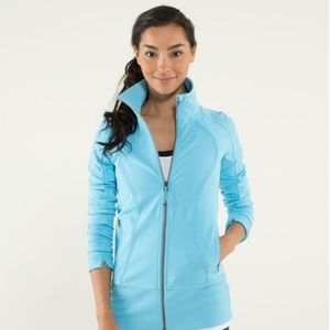 🆕RARE Lululemon Nice Asana Jacket in Blue Moon